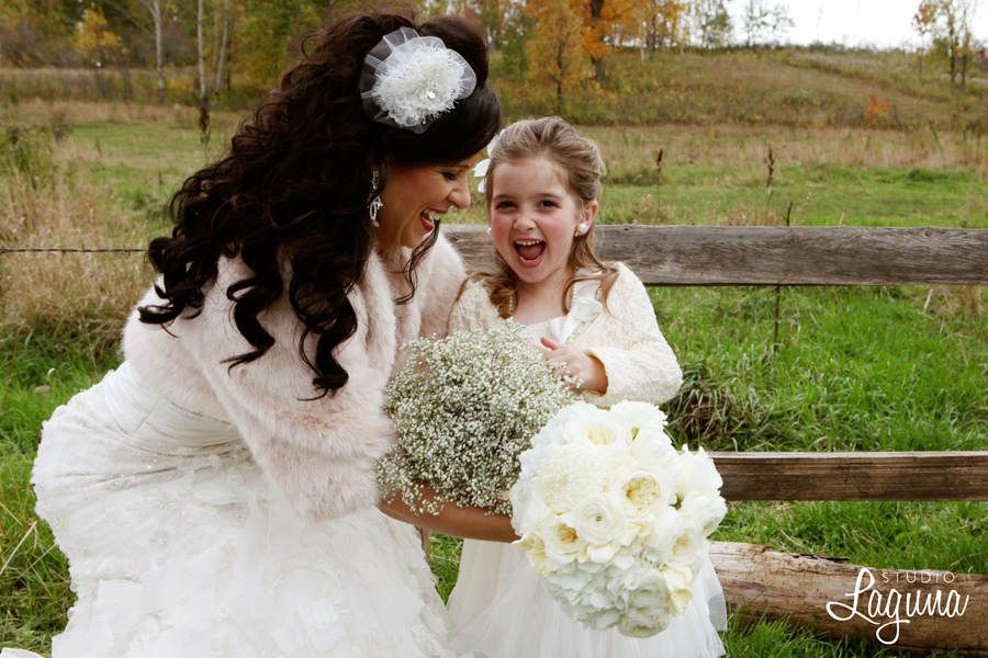 A rustic elegant wedding at The Enchanted Barn.