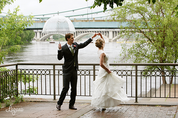 Stone Arch bridge, dancing, Hennepin, wedding photography
