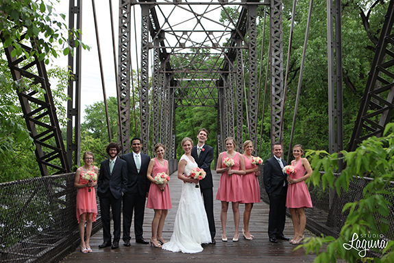 bridge, outdoor wedding photography