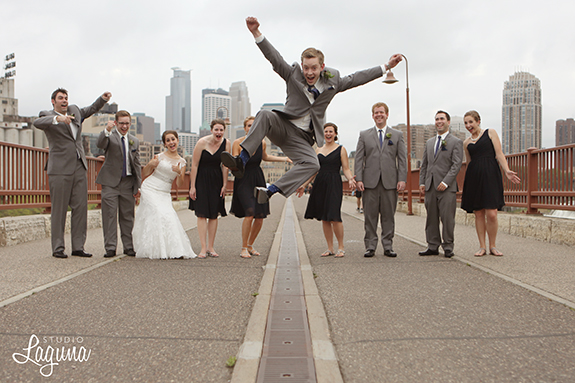 a modern minneapolis wedding